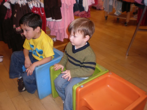 At Gymboree