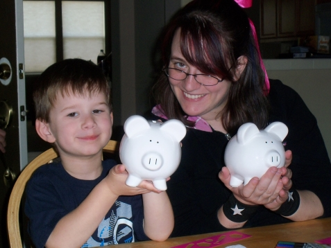 Making piggy banks
