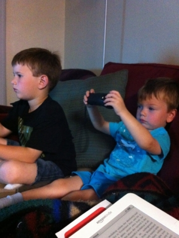 Playing some Wii