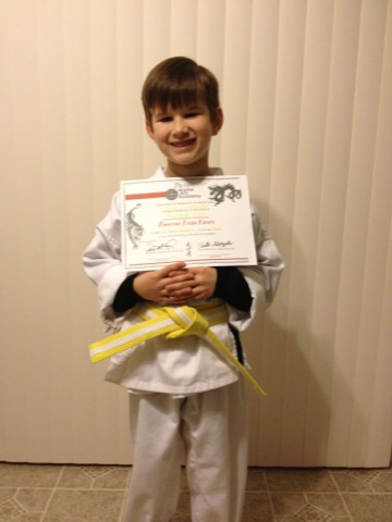 Yellow belt!