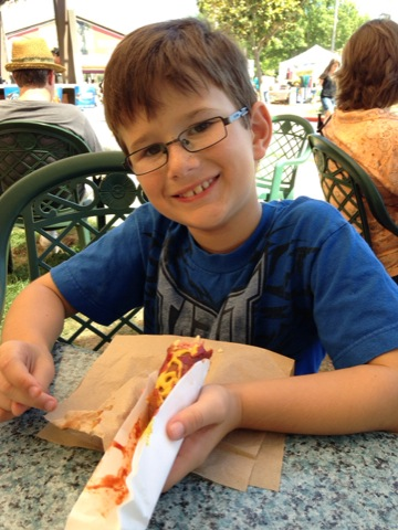 Hot Dog at the Fair