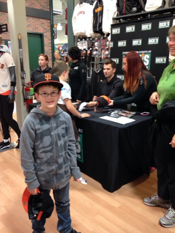Meeting Joe Panik