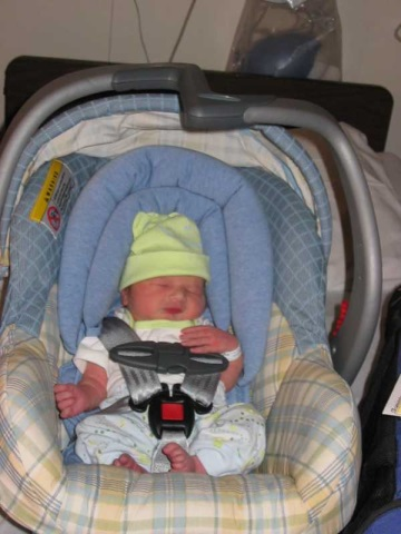 Going home from the hospital!