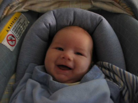 First smile!